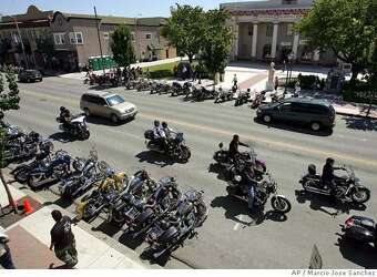 HOLLISTER, SAN BENITO COUNTY / 'Wild One' biker rally takes