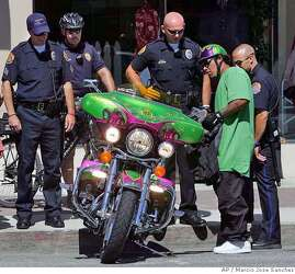 HOLLISTER, SAN BENITO COUNTY / 'Wild One' biker rally takes a tamer