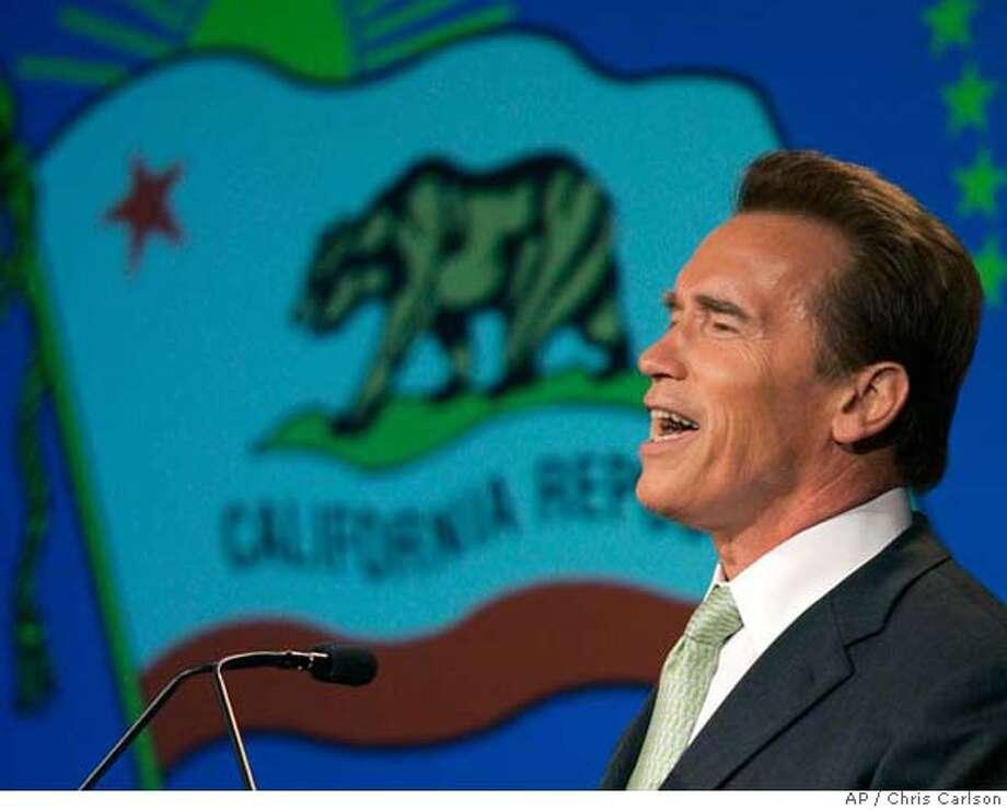 Arnold Schwarzenegger Photo: CHRIS CARLSON