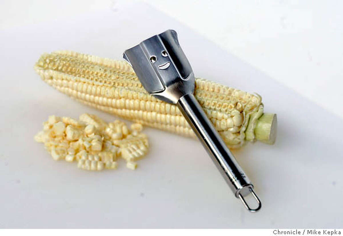 whats28_corn016_mk.JPG A corn zipper shot in the Chronicle studio , CA on Friday June 23, 2006. Mike Kepka / The Chronicle (cq) MANDATORY CREDIT FOR PHOTOG AND SF CHRONICLE/ -MAGS OUT