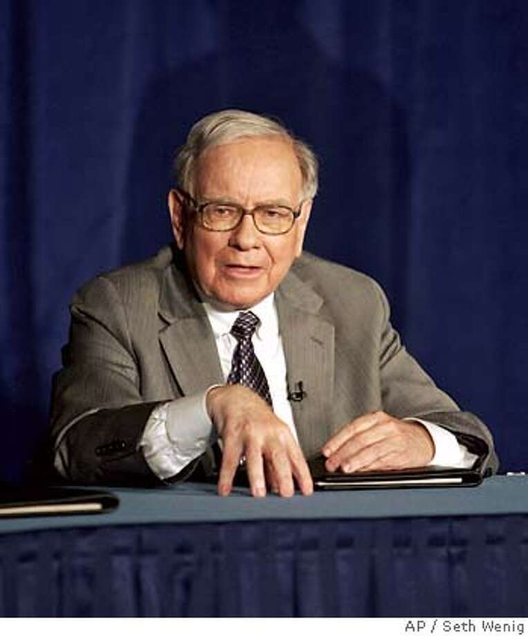 Warren Buffett Photo: SETH WENIG
