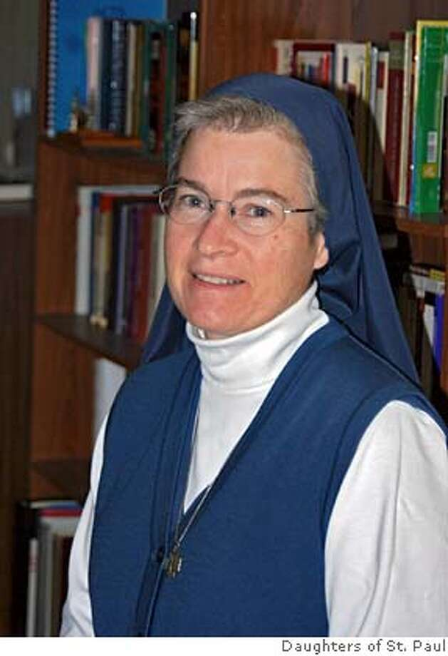 Sister Anne Flanagan loves what technology does for her faith. Courtesy Daughters of St. Paul