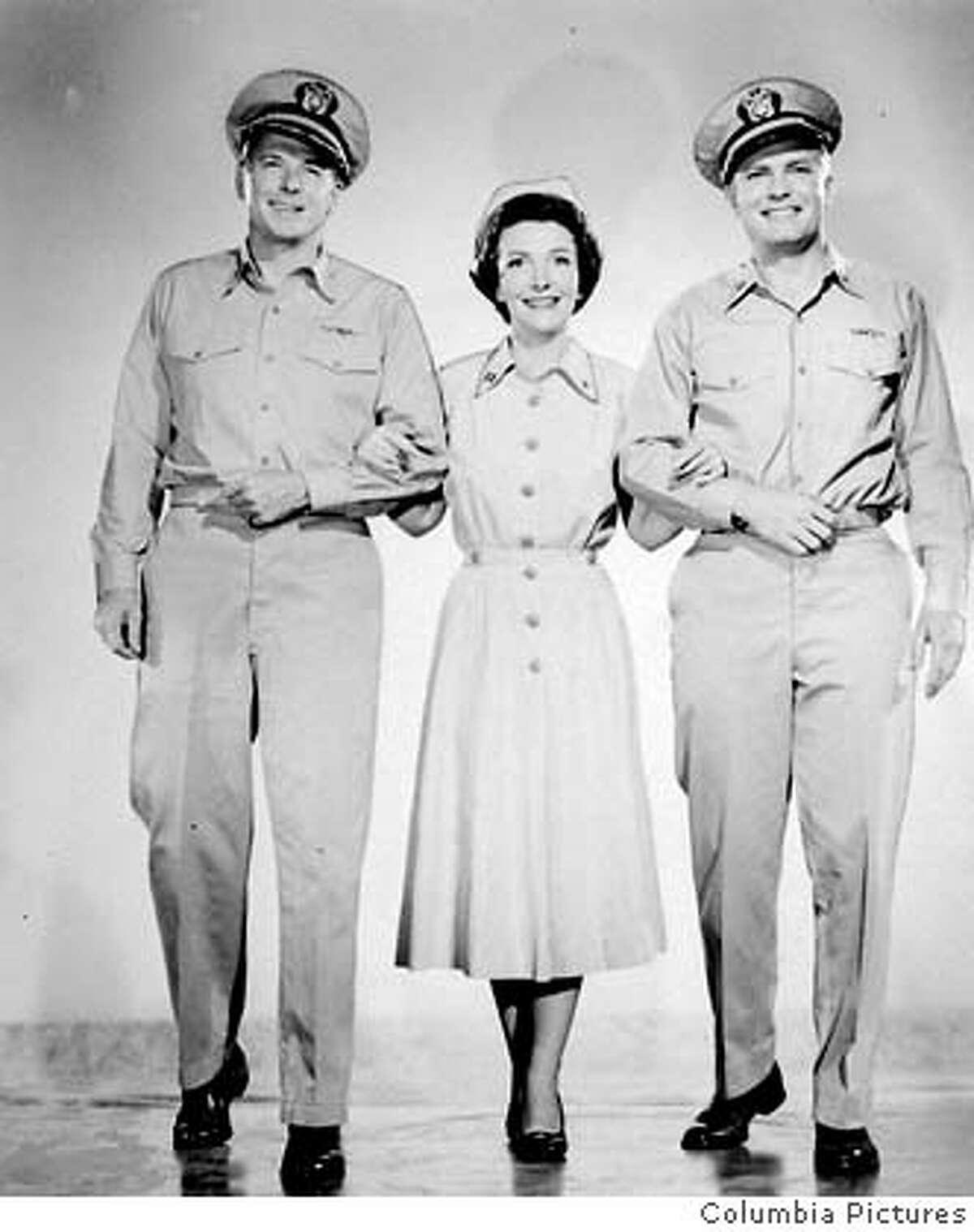 Ronald Reagan, Arthur Franz, Nancy Reagan