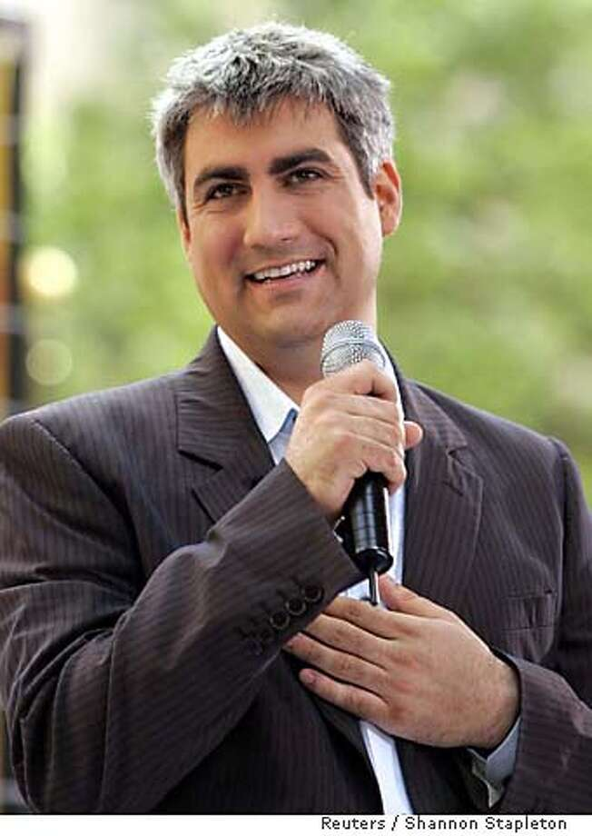 """Amercian Idol"" winner Taylor Hicks smiles after performing at Rockefeller Center in New York Photo: SHANNON STAPLETON"