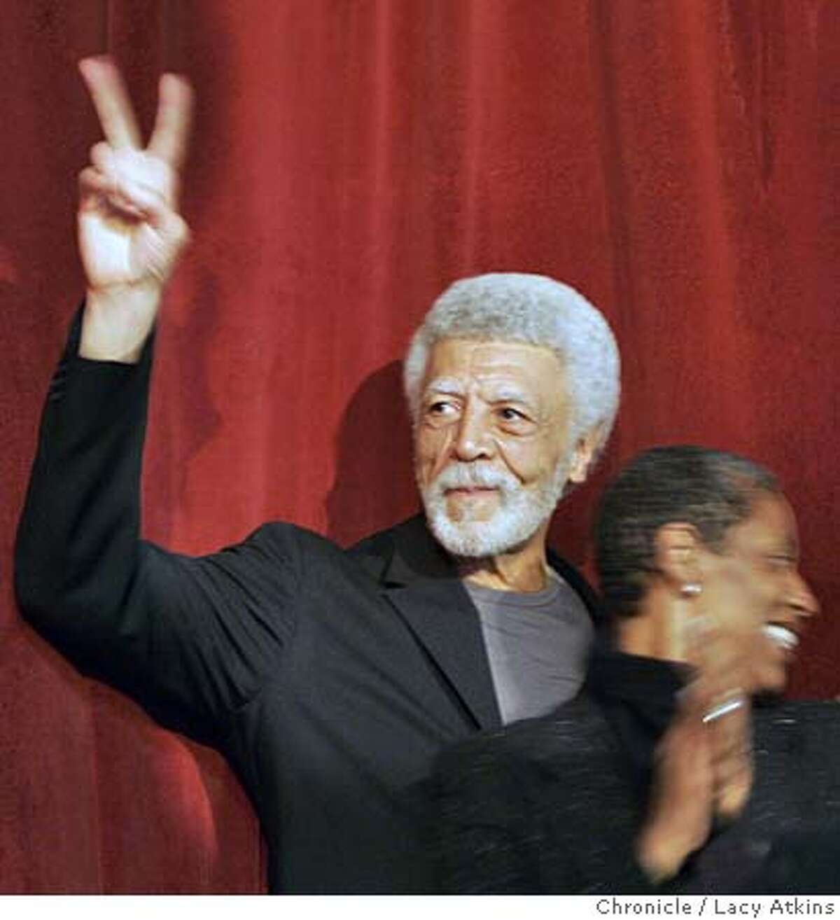 Former U.S. Rep. Ron Dellums and his wife Cynthia at the victory party for the Mayor of Oakland in Oakland,Ca.June 6, 2006. (Lacy Atkins/The Chronicle) Ran on: 06-08-2006 Matthew Chal, an election worker with the county Information Technology Department, takes a breather while tabulating votes. Ran on: 06-08-2006 Matthew Chal, an election worker with the county Information Technology Department, takes a breather while tabulating votes.