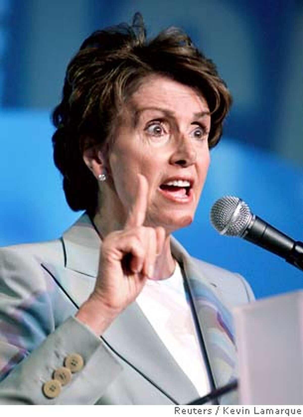 "Nancy Pelosi speaks at the ""Take Back America"" conference in Washington"