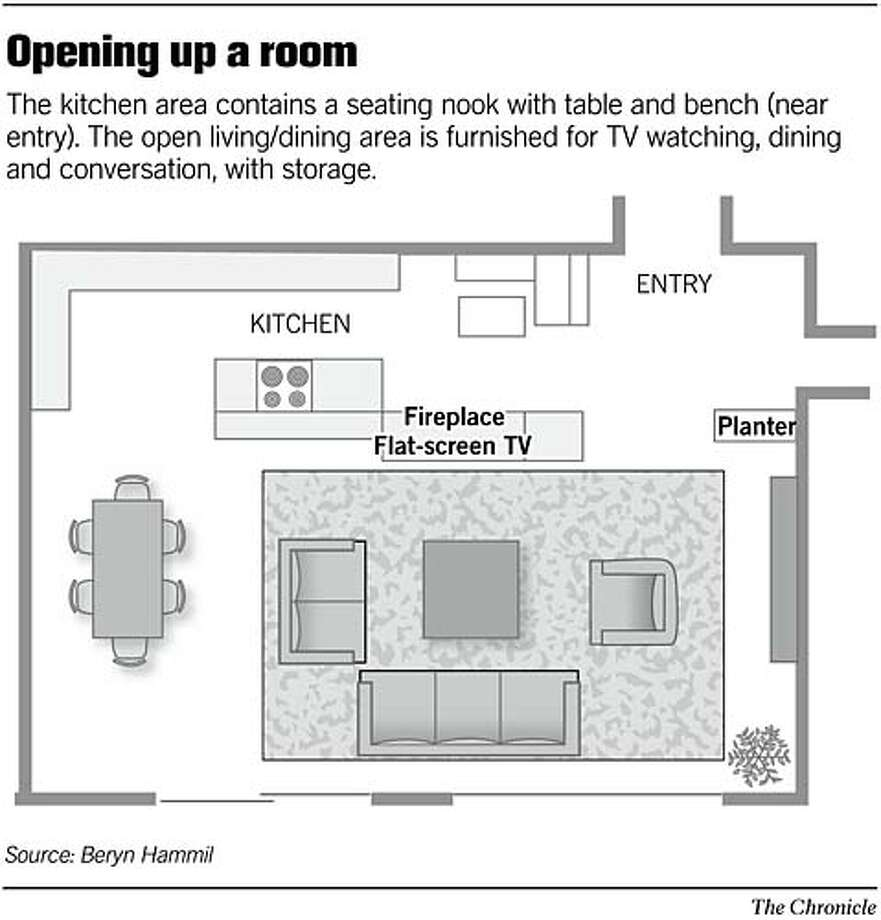 Opening up a room. Chronicle Graphic