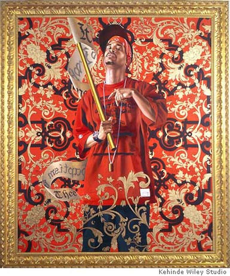St. John the Baptist (2006) sml Kehinde Wiley Studio 330 Wythe Ave. #7J Brooklyn, NY 11211 Photo: Kehinde Wiley Studio
