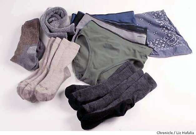 Items for packing during a long trip. (Liz Hafalia/The Chronicle. Photo: Liz Hafalia