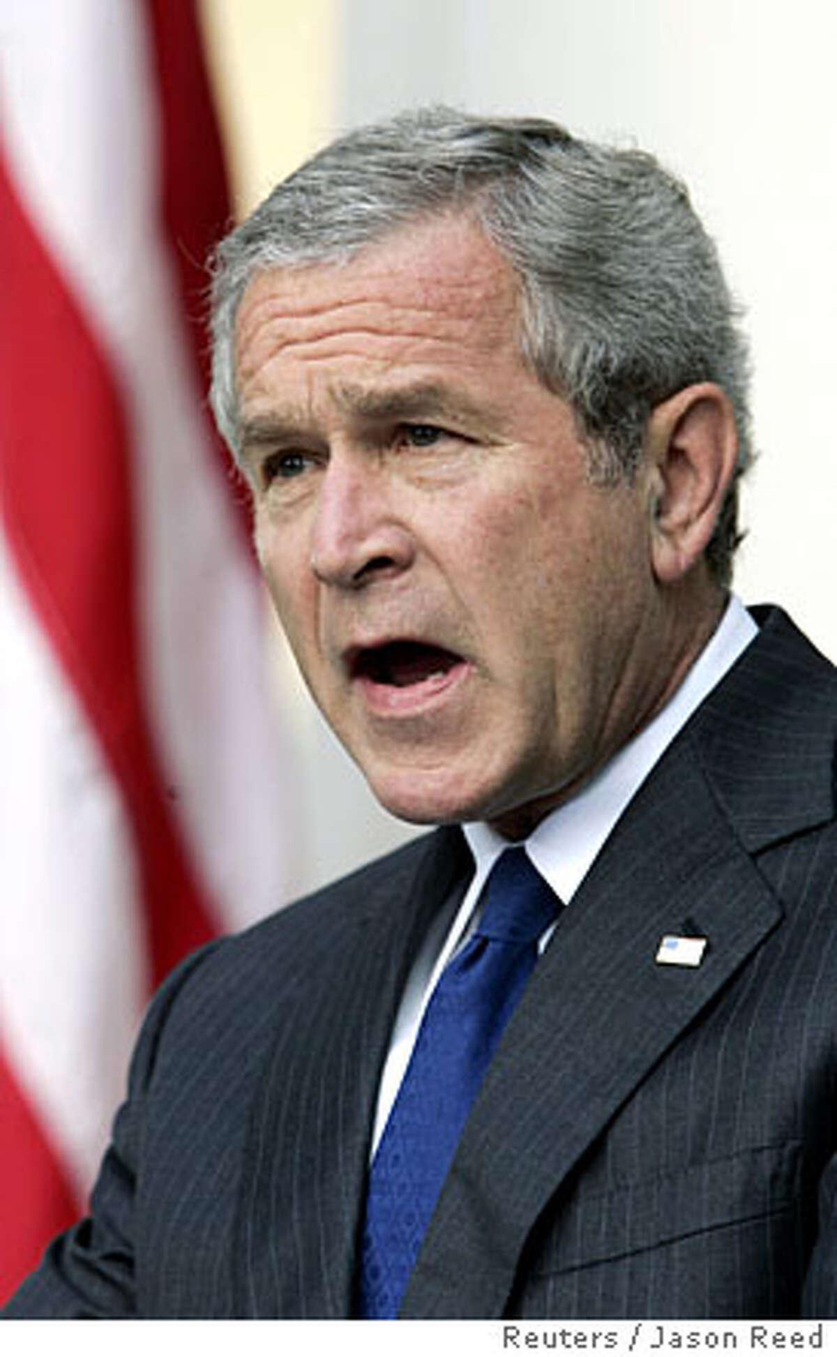 US President Bush makes remarks on the death of Abu Musab al-Zarqawi in Washington