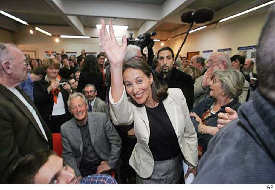 SEGOLENE ROYA Photo: Ap