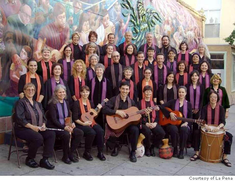 La Pe�a Community Chorus Photo: Hugh Lovell