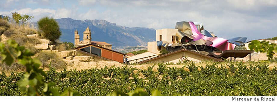 TRAVEL RIOJA -- The new Marques de Riscal winery, Ciudad de Vino (City of Wine) designed by American architect Frank Gehry. Photo courtesy of Marques de Riscal. Photo: Marques De Riscal