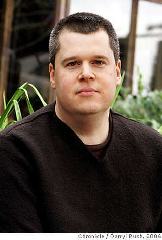 Author Daniel Handler (Lemony Snicket) at Cafe Flore. Event on 1/27/06 in San Francisco.  Darryl Bush / The Chronicle Photo: Darryl Bush