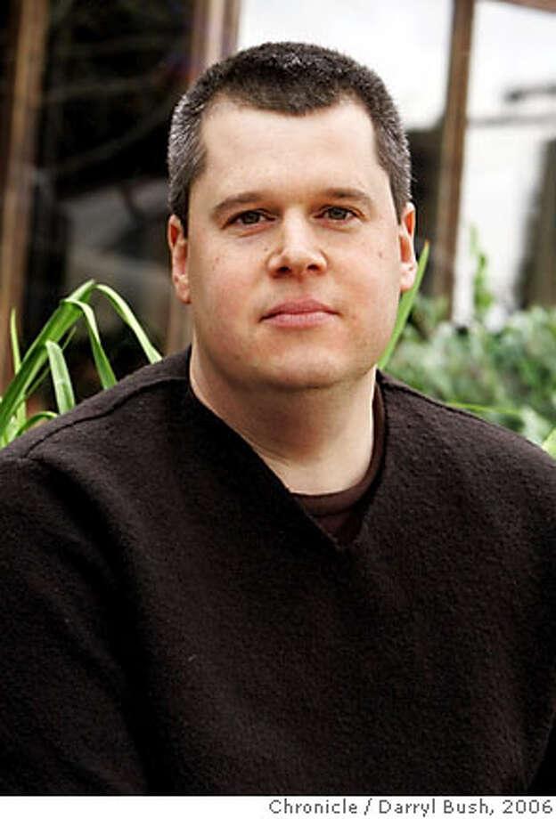Author Daniel Handler (Lemony Snicket) at Cafe Flore. Event on 1/27/06 in San Francisco.  Darryl Bush / The Chronicle Photo: Darryl Bush