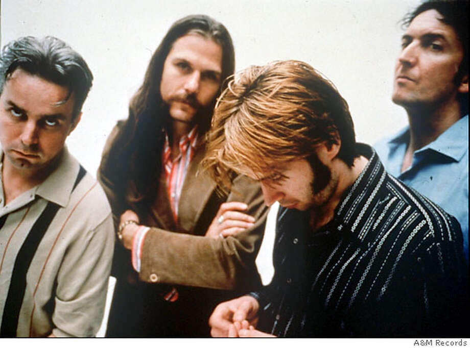 This is an undated photo of the Scottish pop singing group Del Amitri. From left are Andy Alston, Iaian Harvie, Justin Currie and David Cummings. The group has produced four albums and a string of hit singles over the past six years. (AP Photo/A&M Records) [[00000000]] Photo: Anonymous