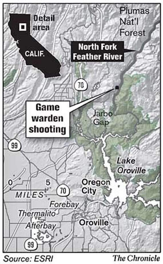 A warden's shootout in Feather River Canyon - SFGate