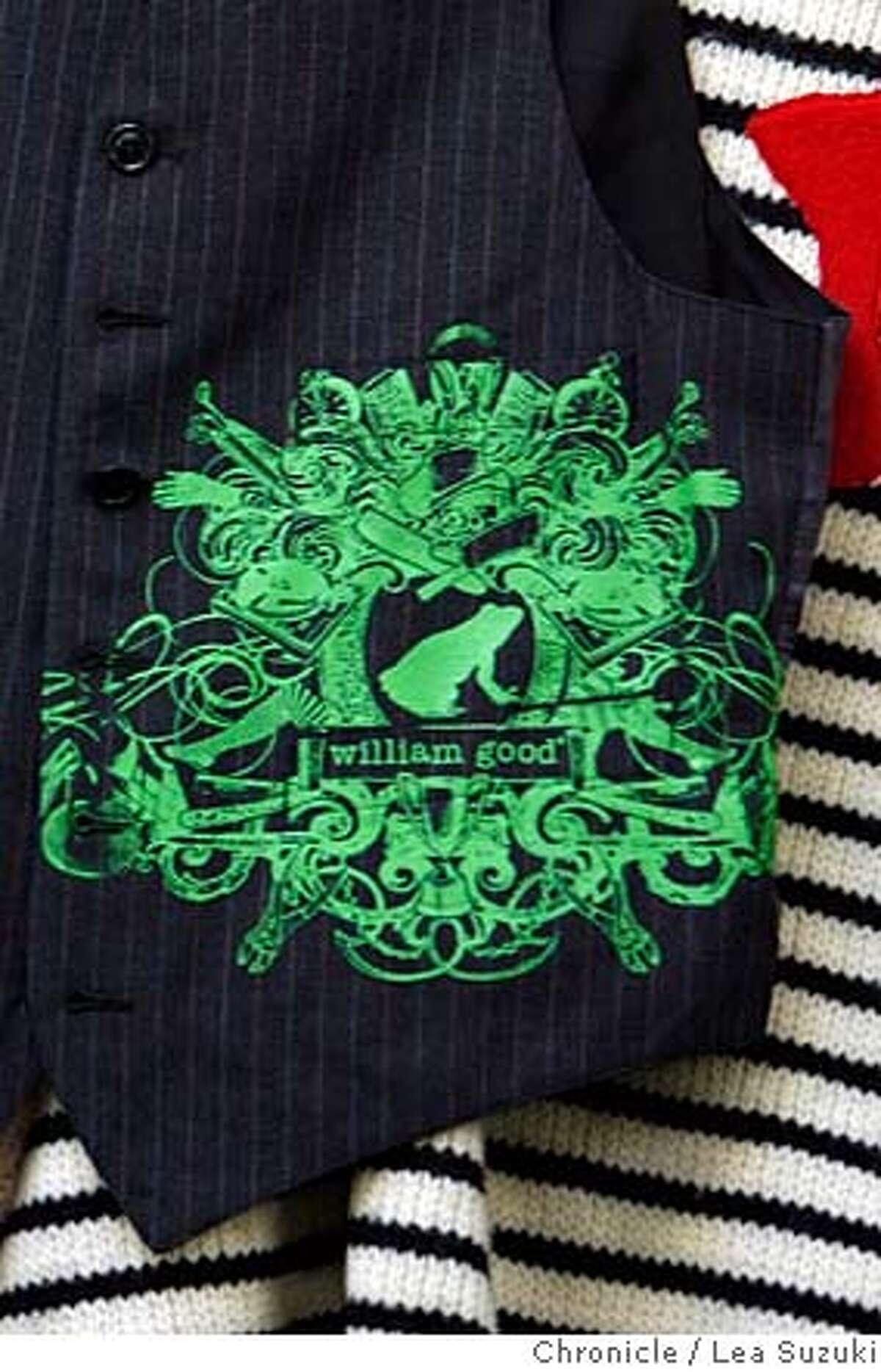 good21_136_ls.jpg A William Good silkscreen design on a vest. William Good's production facility where designers