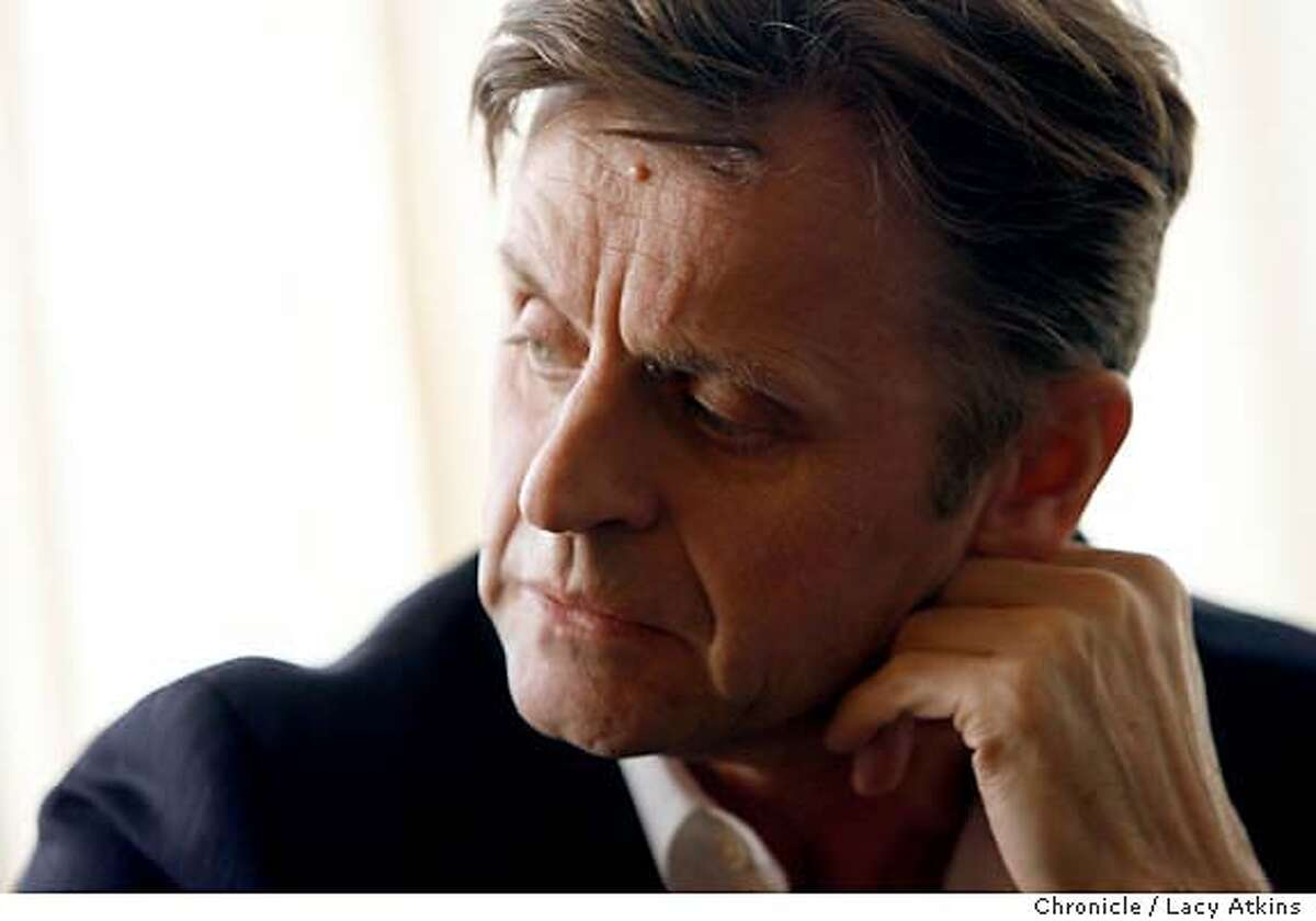 Greatest dancers of all-time Mikhail Baryshnikov at the Hotel Palomar, March 20, 2006, in San Francisco. Photo By Lacy Atkins MANDATORY CREDIT FOR PHOTOG AND SF CHRONICLE/ -MAGS OUT
