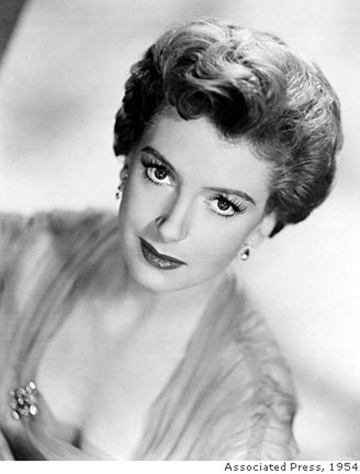 ** FILE ** British actress Deborah Kerr, star of 'From Here To Eternity' and 'The King And I', seen in this 1954 file photo, has died at the age of 86 her agent accounced in London, Thursday Oct. 18 2007. (AP Photo/pa-file) ** UNITED KINGDOM OUT: NO SALES: NO ARCHIVE: **