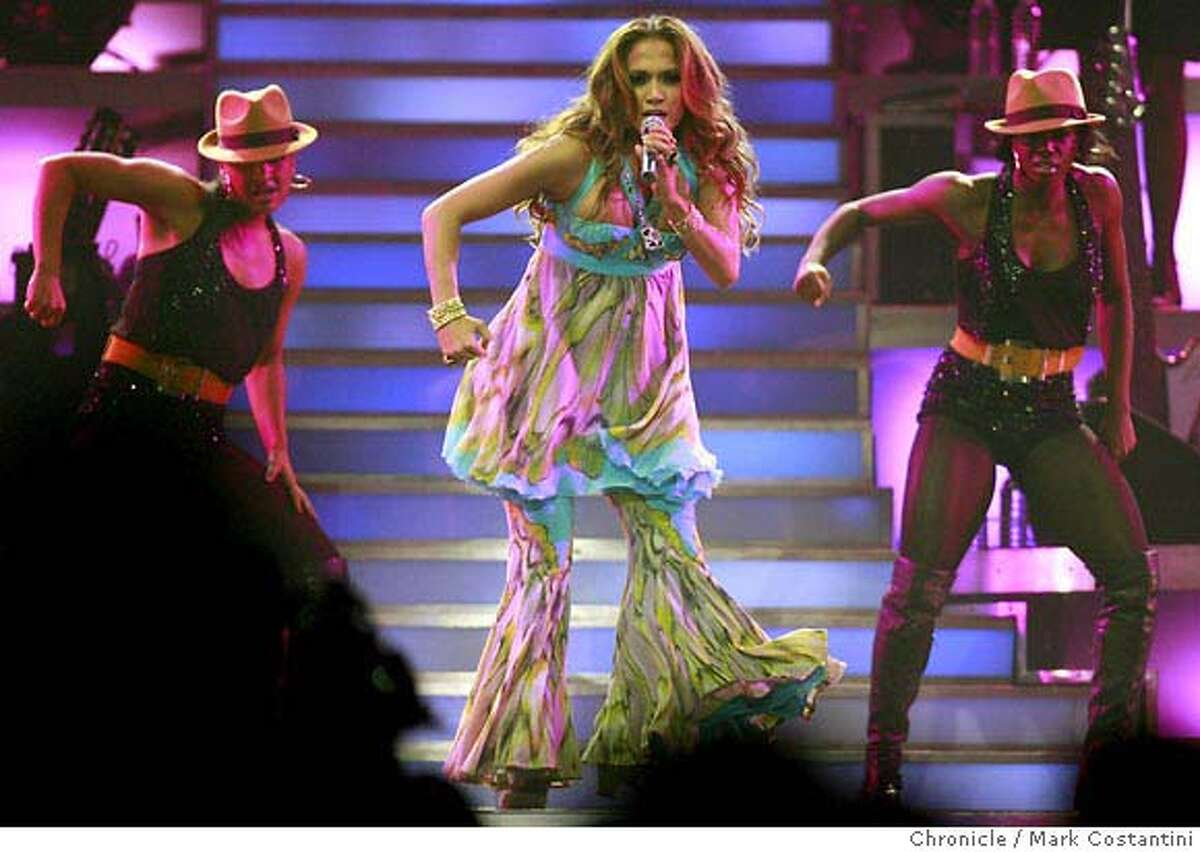 Jennifer Lopez performs at the HP Pavilion. We review. PHOTO: Mark Costantini / The Chronicle
