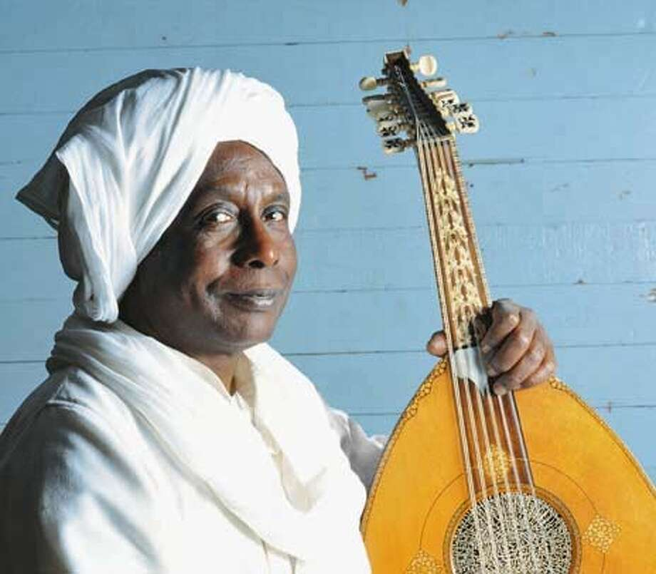 Hamza el Din, the Sudanese-born virtuoso on the oud. Photo: Chronicle File Handout Photo