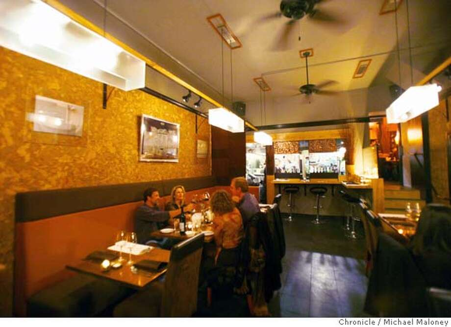 Tinderbox, is a cozy, new restaurant in San Francisco's Bernal Heights district. Photo taken on October 9, 2007.  Photo by Michael Maloney / San Francisco Chronicle MANDATORY CREDIT FOR PHOTOG AND SF CHRONICLE/NO SALES-MAGS OUT Photo: Michael Maloney