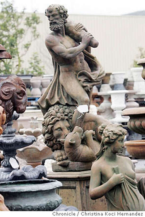 Fallen Angels / Getting Plastered Is Not The Way To Go When It Comes To  Garden Statuary