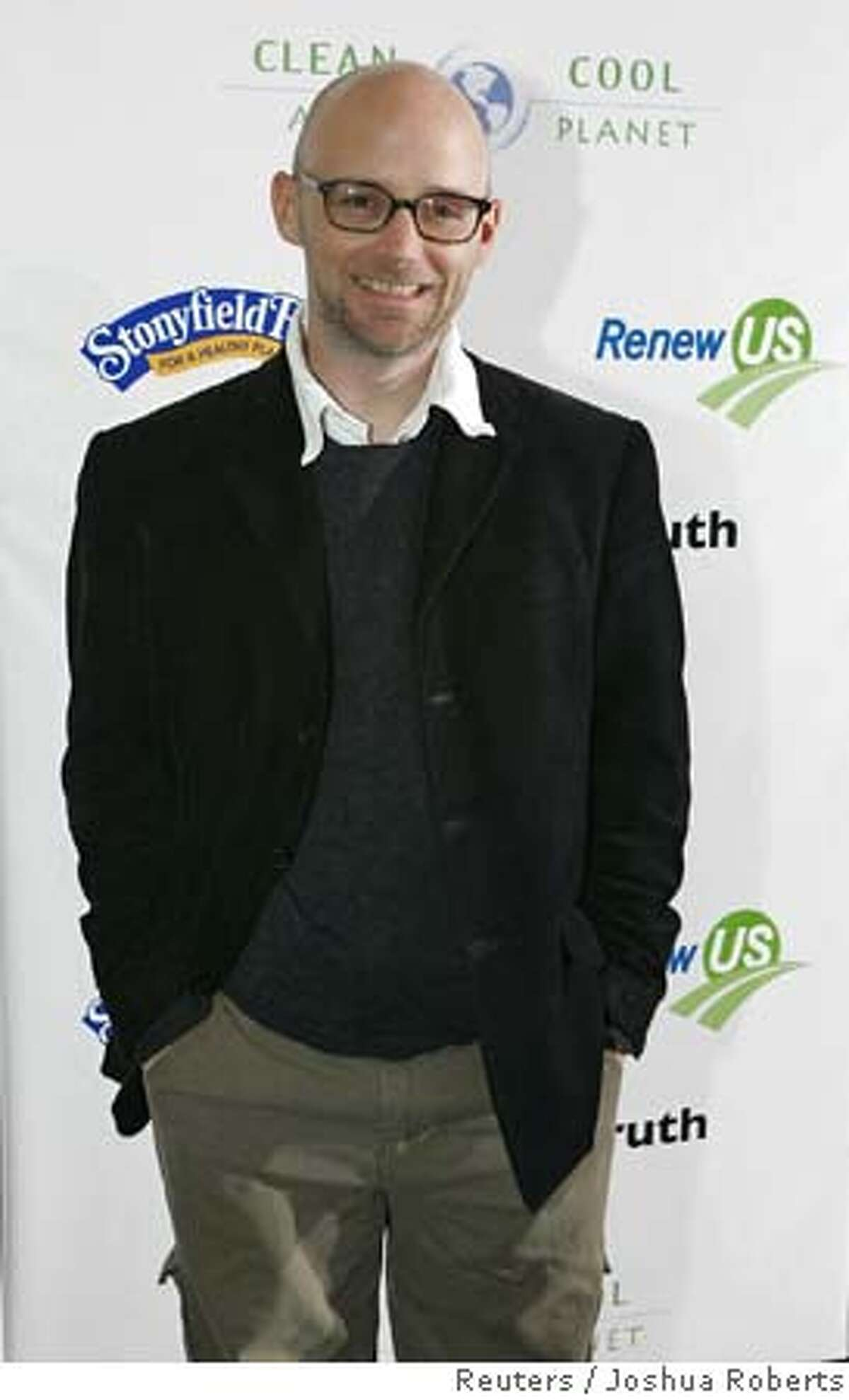 """Recording artist Moby attends premiere of """"An Inconvenient Truth"""" in Washington"""
