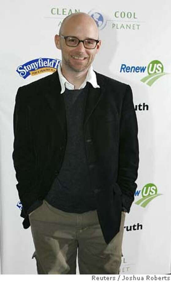 "Recording artist Moby attends premiere of ""An Inconvenient Truth"" in Washington Photo: JOSHUA ROBERTS"