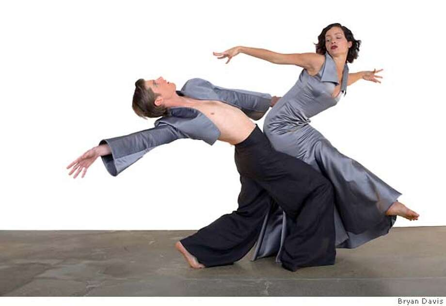 Jewish Community Center of San Francisco (JCCSF) today announced plans to present the world premiere dance Bone lines on Oct. 12 and 13, 2007, 8 pm at Kanbar Hall. This new work is a collaboration between LEVYdance Artistic Director Benjamin Levy, high-fashion designer Colleen Quen, furniture designer Rick Lee, and composer Keeril Makan with music recorded by the Kronos Quartet. Bone lines will combine modern design, music and dance to address connections to family. Ran on: 10-07-2007  &quo;Bone Lines,&quo; a work by LEVYdance combining design, music and dance, will be performed Friday and Saturday at the San Francisco Jewish Community Center.  Ran on: 10-07-2007  &quo;Bone Lines,&quo; a work by LEVYdance combining design, music and dance, will be performed Friday and Saturday at the San Francisco Jewish Community Center. Photo: Bryan Davis
