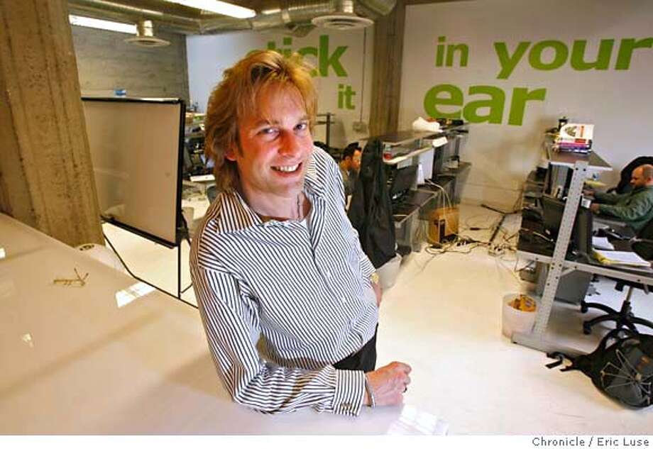 adamcurry02_0037_el.JPG Adam Curry, who runs Podshow.com . in the Product Development Group area. Photographer:  Eric Luse / SFChronicle MANDATORY CREDIT FOR PHOTOG AND SF CHRONICLE/ -MAGS OUT Photo: Eric Luse
