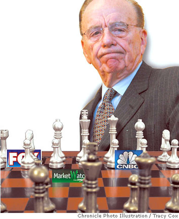 Is Murdoch Making the Right Moves? Chronicle photo illustration by Tracy Cox