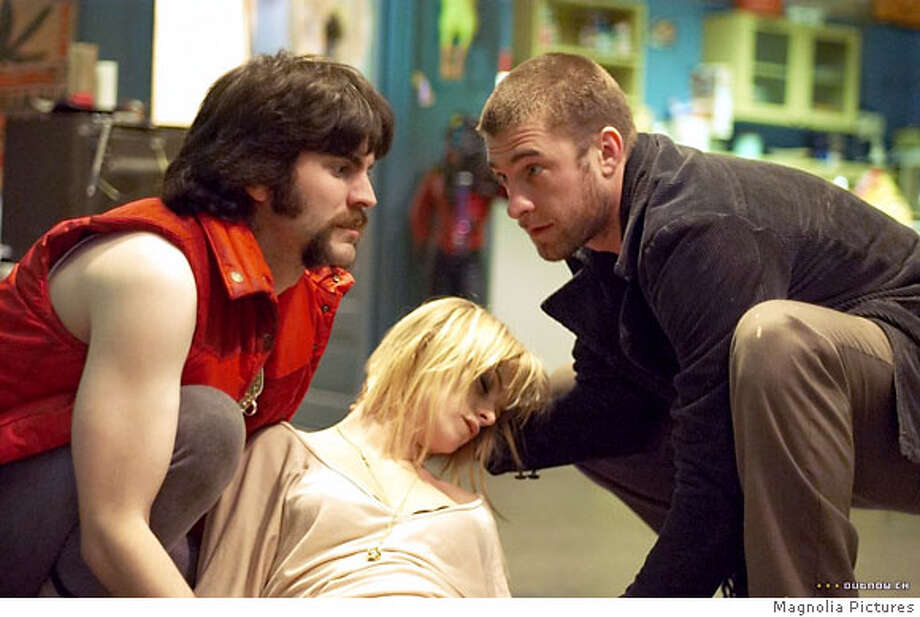 Wes Bentley, left, Taryn Manning and Scott Speedman in WEIRDSVILLE Ran on: 10-14-2007  Wes Bentley (from left), Taryn Manning and Scott Speedman in director Allan Moyle's &quo;Weirdsville.&quo; Photo: Outnow.com