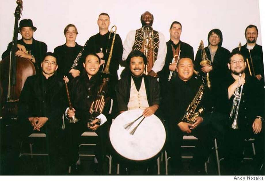 Anthony Brown's Asian American Orchestra at the Oakland Asian Cultural Center. Photo Credit: Andy Nozaka Photo: -