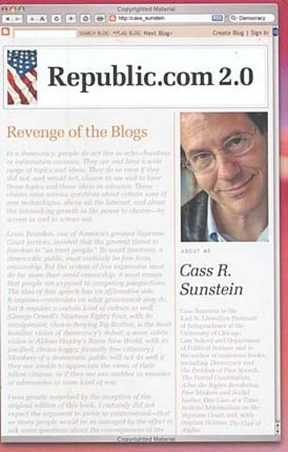 """Republic.com 2.0"" by Cass R. Sunstein"