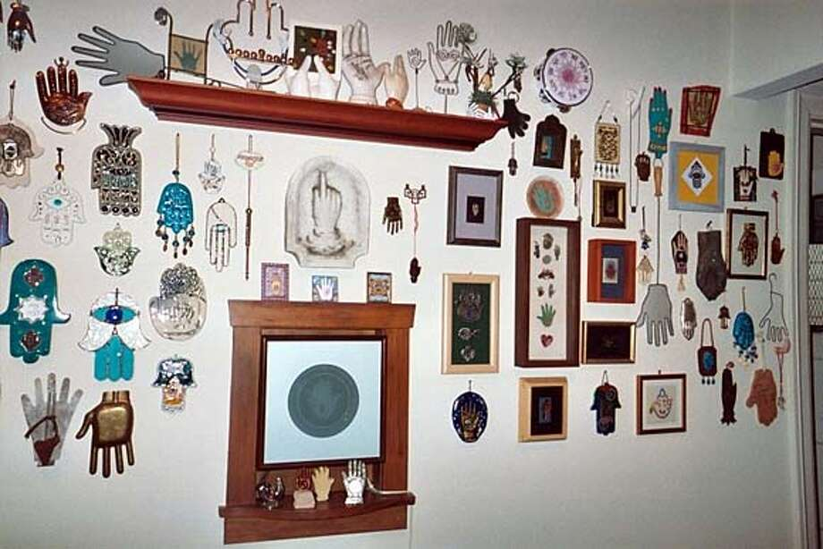 Dennis Spivack's Hall of Hands Photo: Ho