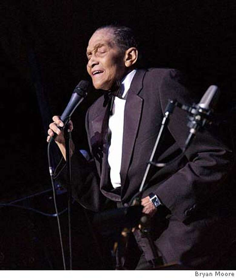 Photo of Jimmy Scott. Credit: Bryan Moore Photo: Bryan Moore