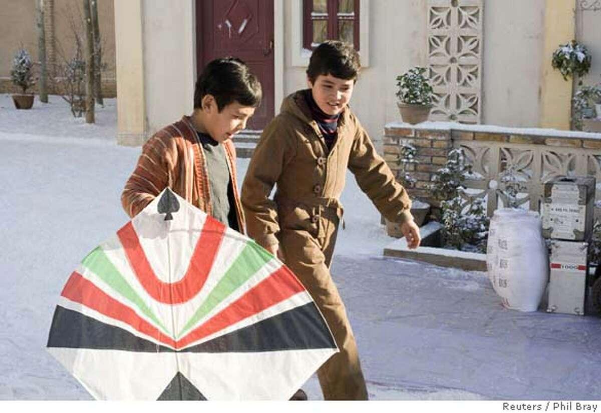 Young actors Ahmad Khan Mahmoodzada as