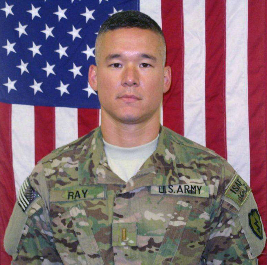 2nd Lt. Clovis T. Ray, 34, of San Antonio, Texas, seen in this undated handout photo provided by the military, died Mar. 15 at Kunar province, Afghanistan of injuries suffered when insurgents attacked his unit with an improvised explosive device. He was assigned to the 2nd Battalion, 35th Infantry Regiment, 3rd Brigade Combat Team, 25th Infantry Division, Schofield Barracks, Hawaii. Photo: COURTESY, DEPARTMENT OF DEFENSE / DOD PHOTO COURTESY OF 25TH INFANTRY DIVISION