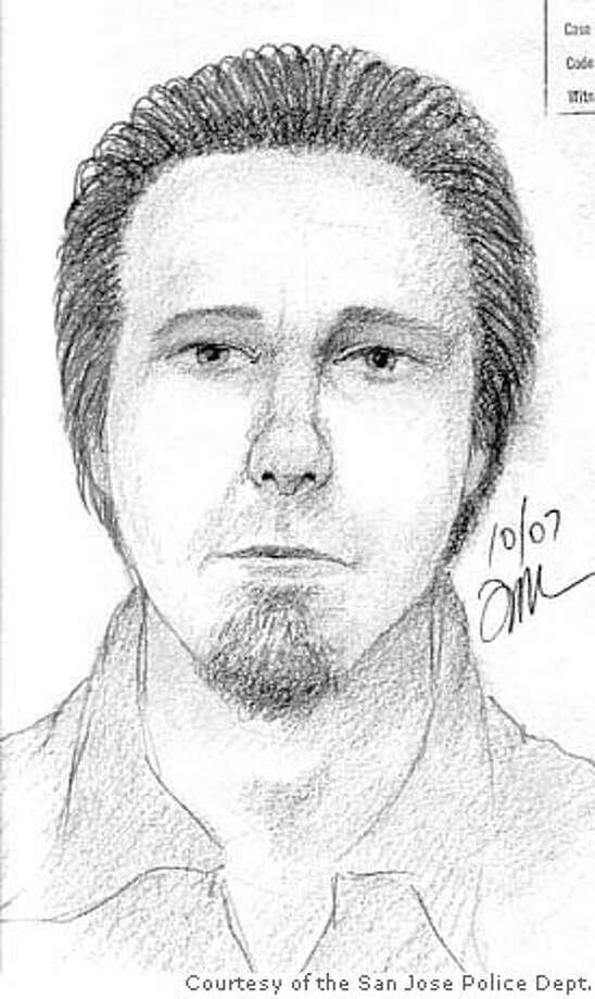Composite Sketch of kidnapper Courtesy of the San Jose Police Dept. Photo: Vv