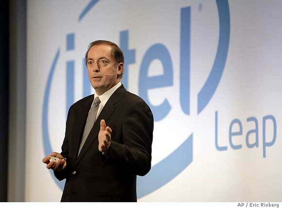 Intel, vPro, Paul Otellini Photo: ERIC RISBERG
