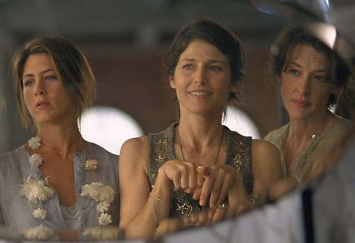 """""""Friends With Money,"""" featuring Jennifer Aniston, Catherine Keener and Joan Cusack (from left), meets the criteria for a new genre of moviemaking. Sony Pictures Classics photo by Mark Lipson"""