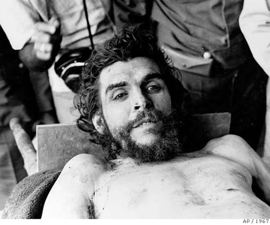 "Cuban revolutionary and former right hand man of Fidel Castro, Ernesto ""Che"" Guevara's body is seen in Oct. 1967 after he was shot to death in Bolivia. (AP Photo) **WARNING: GRAPHIC CONTENT** Photo: AP"