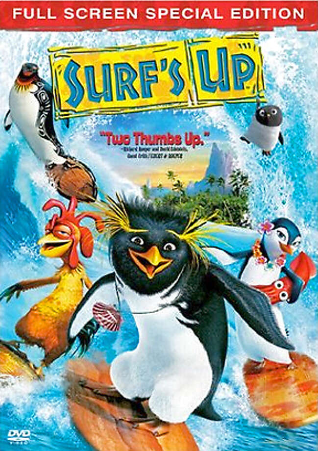 dvd box art for Surf's Up Photo: Ho