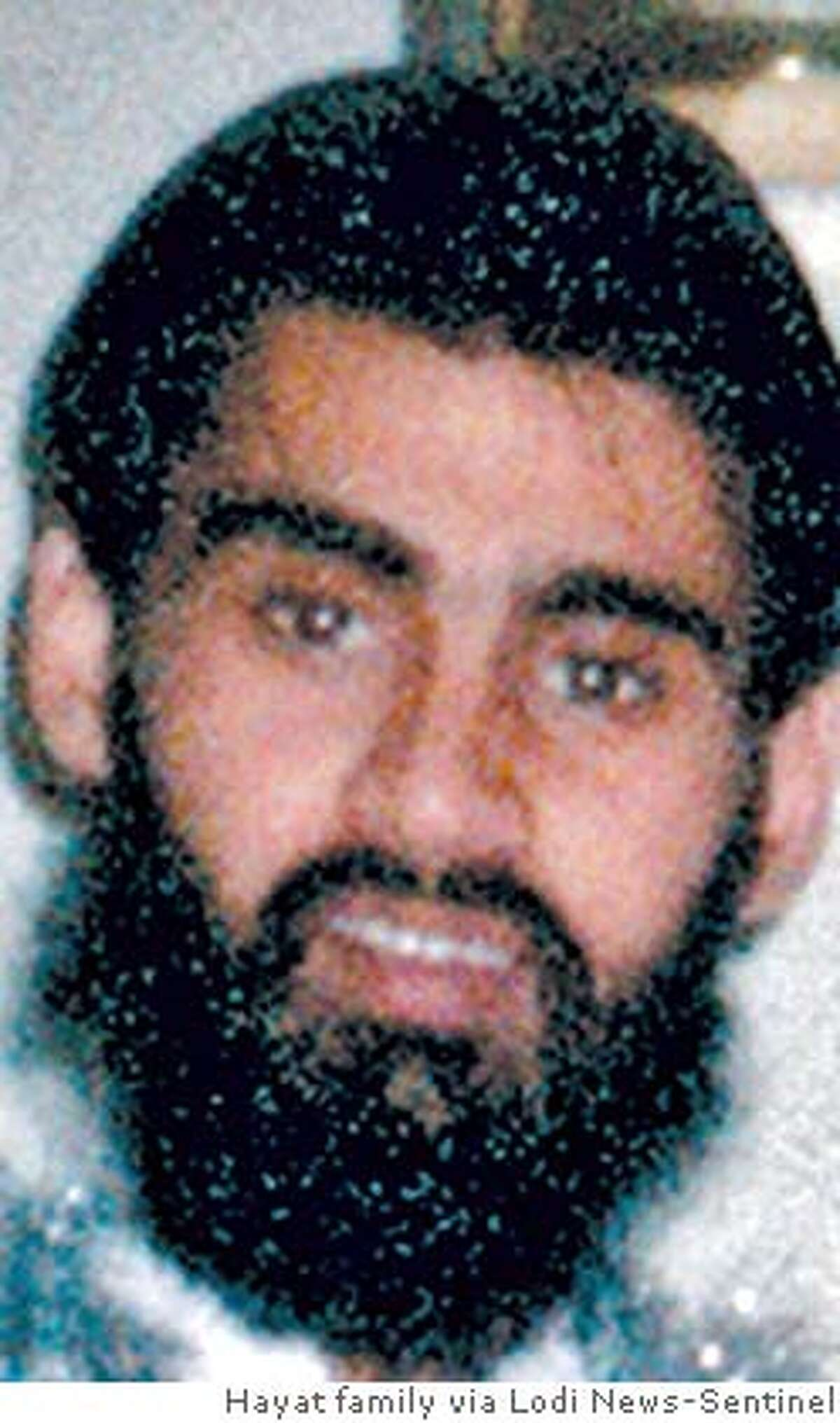 ** FILE ** This is an undated photo of Hamid Hayat provided by the Hayat family. Hayat, already being held on a terror-related charge was indicted on a more serious allegation of providing material support to terrorists Thursday, Sept. 22, 2005, after he purportedly admitted attending an al-Qaida training camp in Pakistan. (AP Photo/Hayat family via Lodi News-Sentinel, FILE) Ran on: 09-23-2005 U.S. Attorney McGregor Scott (above) said, Whatever was taking shape in Lodi isnt going to happen now. Ran on: 09-24-2005 Umer Hayat Ran on: 09-27-2005 Umer Hayat Ran on: 09-27-2005 Umer HayatRan on: 02-17-2006 Defense attorney Wazhma Mojaddidi (left), the attorney for Hamid Hayat, and Johnny Griffin III (right), the attorney for Umer Hayat, arrive at U.S. District Court in Sacramento.Ran on: 02-17-2006 Hamid HayatRan on: 02-17-2006 Ran on: 02-17-2006 Defense attorney Wazhma Mojaddidi (left), the attorney for Hamid Hayat, and Johnny Griffin III (right), the attorney for Umer Hayat, arrive at U.S. District Court in Sacramento.Ran on: 02-17-2006 Ran on: 02-17-2006 Defense attorney Wazhma Mojaddidi (left), the attorney for Hamid Hayat, and Johnny Griffin III (right), the attorney for Umer Hayat, arrive at U.S. District Court in Sacramento.Ran on: 02-17-2006 Hamid HayatRan on: 02-17-2006 Defense attorney Wazhma Mojaddidi (left), the attorney for Hamid Hayat, and Johnny Griffin III (right), the attorney for Umer Hayat, arrive at U.S. District Court in Sacramento.Ran on: 02-22-2006 At the trial of Hamid Hayat, prosecutors wouldnt comment on discrepancies in his confession.Ran on: 03-03-2006 Hamid Hayat merely told an informant and the FBI what they wanted to hear, a de- fense lawyer implied.Ran on: 03-03-2006 Hamid Hayat merely told an informant and the FBI what they wanted to hear, a de- fense...