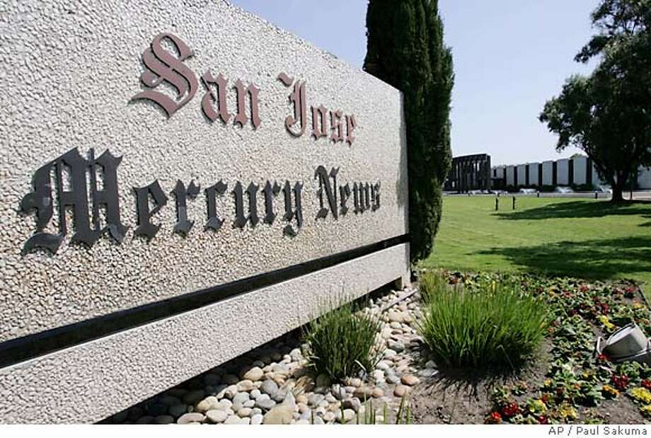 McClatchy, San Jose Mercury News, MediaNews Photo: PAUL SAKUMA