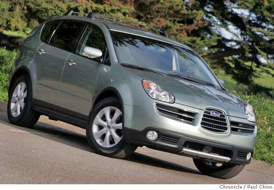 Subarus Go Through Anything Ugly B9 Tribeca Adept Suv Cant Get