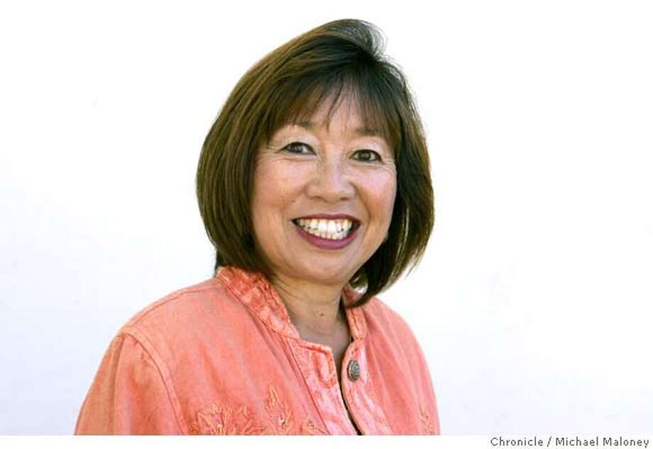 Pat Nishimoto is a high school secretary and tennis coach at Wallenberg High School in San Francisco, CA. Photo taken on 7/19/07  Photo by Michael Maloney / San Francisco Chronicle  ***Pat Nishimoto Photo: Michael Maloney