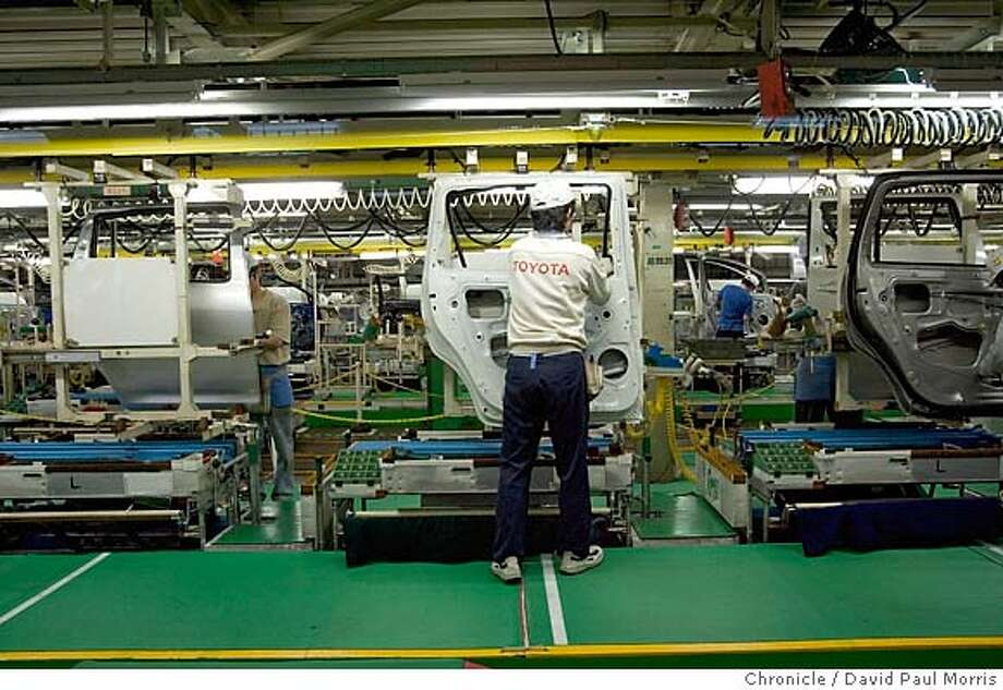 Toyota Prius assembly plant in Toyota City, Japan Photo: David Paul Morris